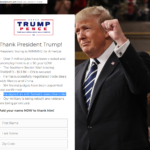 "Blunder: Trump's official website calls him ""anti-Semetic"" [sic]"