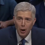 "Gorsuch: ""A fetus is not a person"""